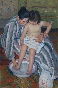 mary cassatt bath