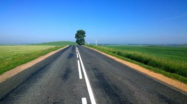 unsplash road rural sky